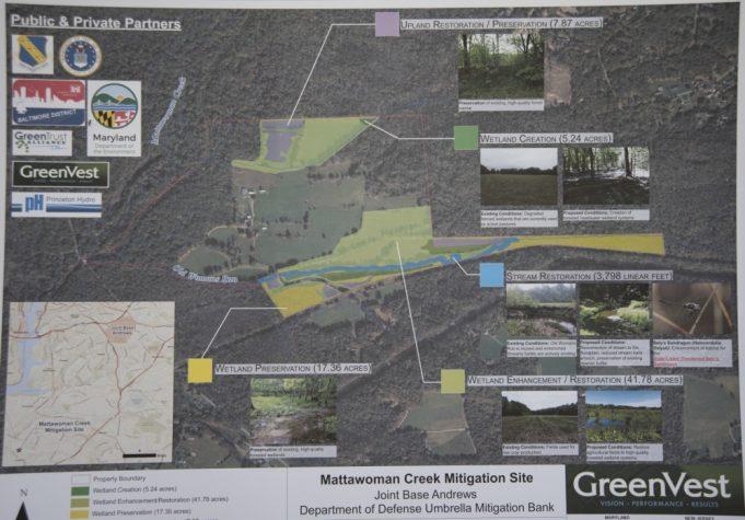UMBI Mattawoman Creek Map