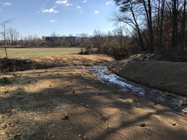 stream restoration grading