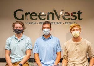 GreenVest's Interns: Nate, Christian, and Matt